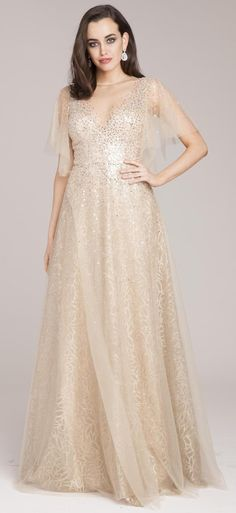 9a4d532f76 Bling Bling Blushing Pink Evening Dresses 2018 A-Line   Princess  Off-The-Shoulder Short Sleeve Appliques Lace Glitter Sequins Floor-Length    Long Ruffle ...