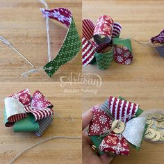 Gift Bow How To ~ Susan Wong