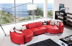 Modern designer sectional sofas. Corner contemporary design couch « http://sectionalsofasale.net