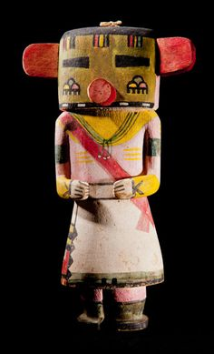 Hopi Cloud Kachina. Important Native American art for sale on CuratorsEye.com