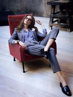 fashion inspiration office wear working clothes women suit skirt pant chic