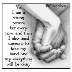 We all need someone