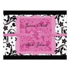 Adistyle: Gifts: Wedding Romantic Invitations: Zazzle.com Store