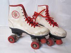 Strawberry Shortcake roller skates :D