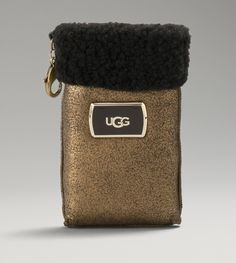Womens Jane iPhone Sleeve By UGG Australia,,, This is defiatly a splurg,,, very very cute,, I say if your gonna have your Iphone, you might as well, cover it in style.. LOL