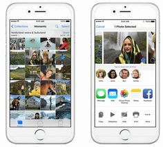 The ease of transferring files to your iPhone, iPad, iPod Touch and Mac via AirDrop means you can quickly share photos, videos, websites, locations, and more with people nearby with an Apple device.