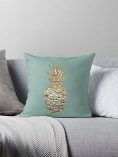 This modern and chic marble patterned pineapple with faux printed gold outline on teal background is perfect for the trendy and stylish individual. Its fun and contemporary take on a summer favorite is great for many gifts and occasions. Enjoy this tropic and exotic fruit in some of the most popular patterns of the season! • Also buy this artwork on home decor, apparel, stickers, and more.