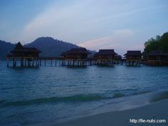 Pangkor Laut Resort, Malaysia - Had the best vacation here staying on the water chalets and eating plenty of good food.
