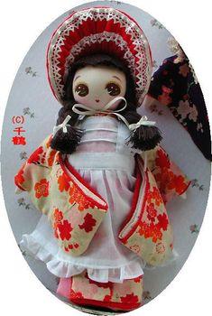 着物文化人形 - kimono bunka doll