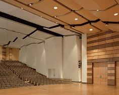 3 Concert Hall Architecture, Theatrical Scenery, Cultural Center, Theater, Ceiling Lights, Interior, Home Decor, Decoration Home, Indoor