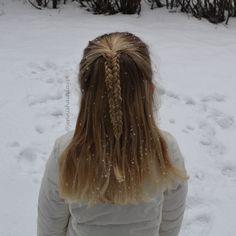 Twisted edge fishtail by Jenni's Hairdays #braid #halfup #letti #lettikampaus #braids for #girls