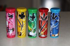 Power Rangers Samurai Wrappers for M&M Mini Candy Roll-DIGITAL | DragonflyDesignsbyGwin - Digital Art  on ArtFire