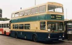 Old Bus Photos - Old bus Photos and informative copy Buses And Trains, West Bromwich, Double Deck, Bus Coach, London Transport, West Midlands, Busses, Coaches, Great Britain