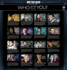 Doctor Who Myers-Briggs personality chart INFJ