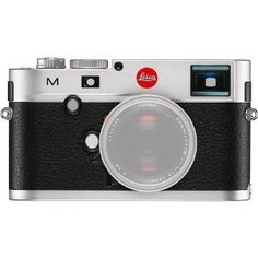 The silver M Digital Rangefinder Camera from Leica is a traditionally-styled M-series camera that blends elements of Leica's celebrated past with contemporary imaging technology. This camera features a full-frame Leica Max 24MP CMOS sensor and Maestro image processor to realize rich image quality with low noise levels and smooth color and tonal gradations. The sensor and processor combination also avails the ability to shoot continuously up to 3 fps, record full HD 1080p vide