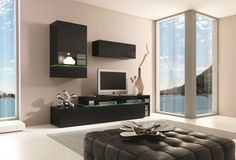 Amsterdam Combination-11182 Modern Wall Unit by Creative Furniture
