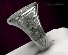 Signet Skull Ring