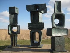Family of Man by Barbara Hepworth - fantastic!