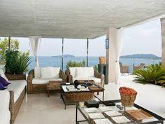 Mediterranean furniture in the house