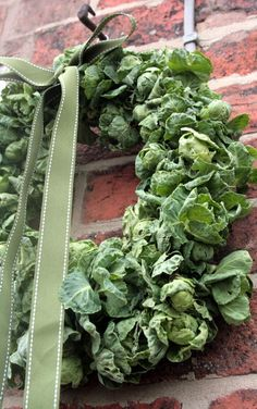 Brussel Sprout Wreath