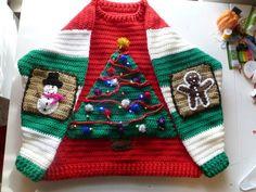 Ugly Christmas Sweater base pattern (Crochet)