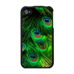 PixDezines Psychedelic Peacock Iphone 4 Case