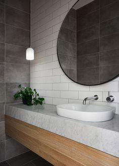 Shasta House by Austin Design Associates / Photographer: Armelle Habib Bathroom Renos, Bathroom Interior, Master Bathroom, Homebase Bathrooms, Bathroom Grey, Bathroom Inspo, Bathroom Inspiration, Tudor Style Homes, Interior And Exterior