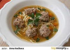 Játrové knedlíčky podle mé babičky recept - ... www.toprecepty.cz/recept/49018-jatrove-knedlicky-podle-me-babicky Warm Food, Garlic, Vegan Recipes, Food And Drink, Beef, Meals, Vegetables, Cooking, Ethnic Recipes
