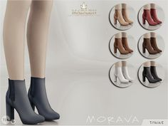 Sims 4 CC's - The Best: Shoes & Boots by MJ95