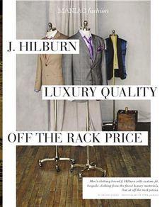 J. Hilburn Featured in the July|August Men Issue of Maniac Magazine https://lindatitus.jhilburn.com/