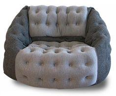 luxury bean bag chairs - Google Search Chesterfield Chair, Armchair, Bean Bag Design, Bean Bag Chair, Accent Chairs, Bag Chairs, Luxury, House, Bags