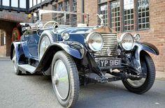 "1922-29 Rolls-Royce ""Twenty"" ~ Their ""small car"" for people with no chauffeur. ~ Miks' Pics ""Rolls-Royce"" board @ http://www.pinterest.com/msmgish/rolls-royce/"