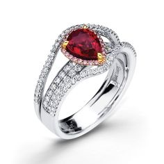 Engagement Ring Ruby 9