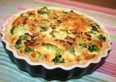 Fröken Hallon bloggar: Broccolipaj med bacon och ädelost Greek Recipes, Baby Food Recipes, Food Baby, Bacon, Food Hacks, Food Tips, Chutney, Quiche, Broccoli