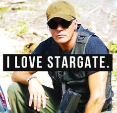I keep forgetting how much I love Stargate and all the characters. They feel like old friends and seeing pictures and gifs brings this massive wave of nostalgia.
