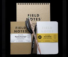 I have recently fallen in love with Field Notes notebooks.