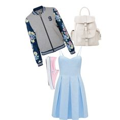 A fashion look from February 2015 featuring Forever New dresses, Vero Moda blazers and Vans sneakers. Browse and shop related looks.