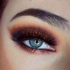 Fantasy eye make up #make up #idea