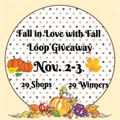 HURRY go enter in the FALL IN LOVE WITH FALL loop giveaway. 29 different prizes and 29 winners! Ends tonight at midnight! Instagram @lauren_modernmodesty
