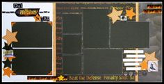 8 photo 2 page Two Scrapbook Friends: Kit of the Week! Great for any sport Scrapbook Examples, Scrapbook Layout Sketches, Scrapbook Templates, Scrapbook Paper Crafts, Scrapbooking Layouts, Scrapbook Cards, Digital Scrapbooking, Scrapbook Generation, 6 Photos