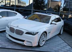 BMW 7 series this beast makes me want to cry it's SOO perfect!!