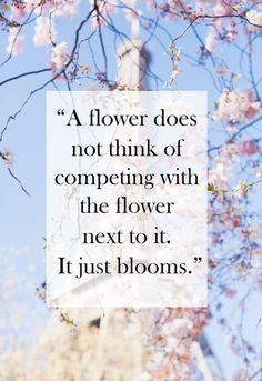 A Flower Just Blooms life quotes quotes quote tumblr life quotes and sayings