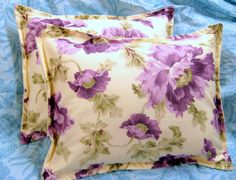 VIOLET Pair Custom Made Decorative Boudoir Pillow by Sew1Pretty, $22.00
