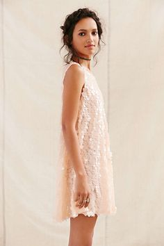 Urban Renewal Remade Square Paillette Dress - Urban Outfitters