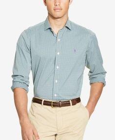 POLO RALPH LAUREN Polo Ralph Lauren Men's Stretch Performance Shirt. #poloralphlauren #cloth #down shirts