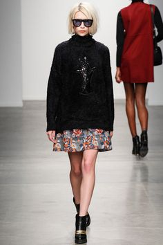 Karen Walker Fall 2014 Ready-to-Wear Collection Slideshow on Style.com