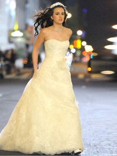 Nice tvs and wedding on pinterest for Wedding dress blair waldorf