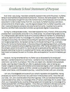 resume for graduate school