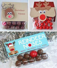 Narices de reno • Reindeer noses DIY