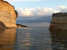 White Bluff Now! Photo Gallery. View from one of the many white bluff coves on Lake Whitney.
